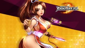 Mai Shiranui - KOF'97 OL HD Wallpaper by Zeref-ftx