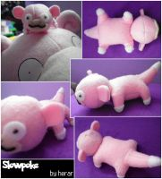 Mini Slowpoke Plush by SmileAndLead