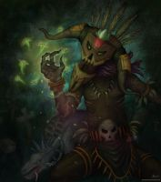 Witch doctor rising by Nexius22