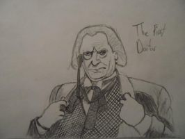 The First Doctor by J-Edgar-Pinkerton