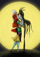 Embrace - coloured by WaterLily-Gems