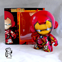 Iron Man with box by FullerDesigns