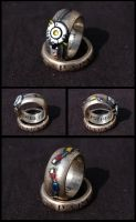 GLaDOS Potato POTaTOS Ring by ammnra
