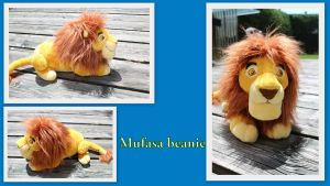 Mufasa beanie by Laurel-Lion