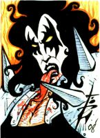 Charity sketchcard6 the Demon by skulljammer