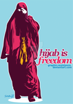 hijab is freedom by graphic-resistance