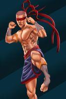 Muay Thai Lee Sin by chrisdog203