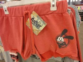 Red Oswald Shorts from Target by swarlock64