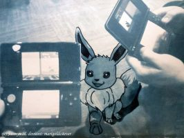 Trade Me That Eevee! by marigoldc4ever