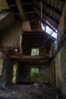 Abandoned House Interior Stock 1 by SSyn-Stock