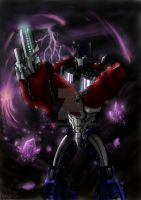 TFP- Optimus by Evaison