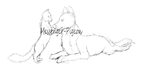 Cat And Dog YCH Auction {Open} by Messenger-Pigeon