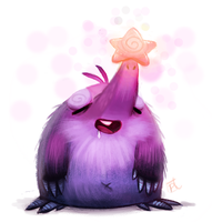 Daily Paint #673. Star-Nosed Mole by Cryptid-Creations