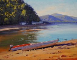 Patonga creek , nsw by artsaus