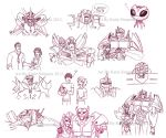 Transformers Prime Sketch dump by Redhead-K