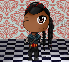 Aveline Chibi by htfloveAPH