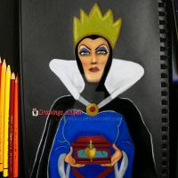 Evil Queen by Angelii-D
