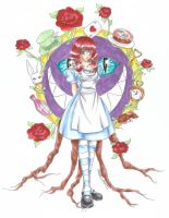 Alice in Wonderland by Shadow-chan93