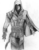 assassin's creed 2 - ezio (re-upload) by deathlouis