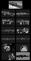 Contention: UNMC Tomahawk LMG Re-work by Malcontent1692