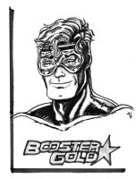 Booster Gold Quick Sketch by KwongBee-Arts