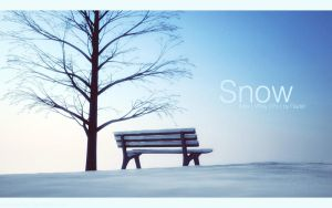Snow by praveen3d