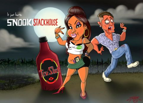 Snooki Stackhouse by D7Toonman