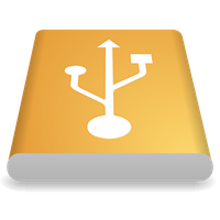 New USB Icon (128x128/Vector) by KAYOver