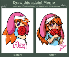 Before and After May by Miniatureowl