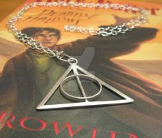 Deathly Hallows Necklace by Peaceofshine