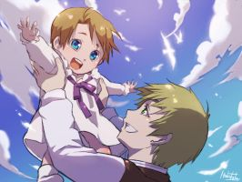 Hetalia family 2 by hakutaku