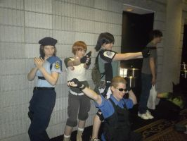 MTAC Omega 2012: Wesker and The Girls by BlueEyesMaster