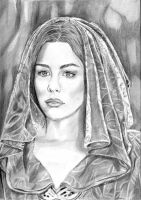 Hooded Arwen by khinson