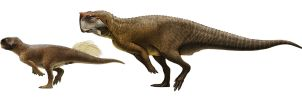 Psittacosaurus sibiricus and P. sp. (SMF R 4970) by Olorotitan