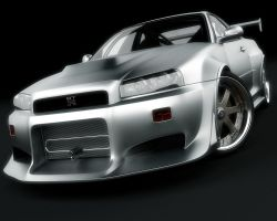 Nissan Skyline GTR wallpaper by stefanmarius