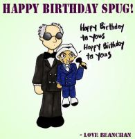 A Birthday Dummy for Spug by beanchan