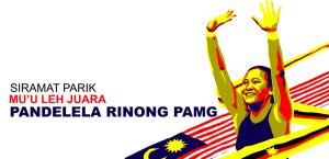 Welcome home, Pandelela Pamg by k-hots