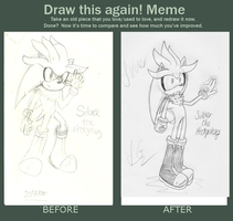Before and After Meme by SEGAgal