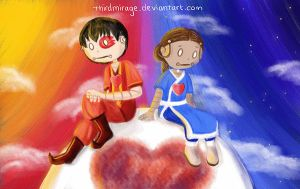 Zutara Week: Day 5 (Heartstrings) by thirdmirage