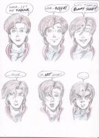 Many Faces of Fred by Lance-Danger