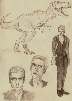 Doctor Who Sketchdump by Borabee