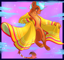 ~ Mitchie and the Amazing Technicolor Dreamcoat ~ by ssnugglepunk
