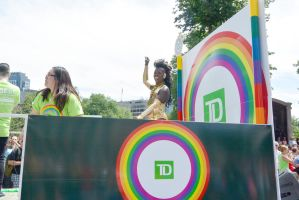 2015 Boston Pride Parade,Float Drag On the Street by Miss-Tbones