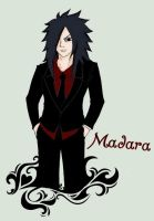 Black suit by Maddus