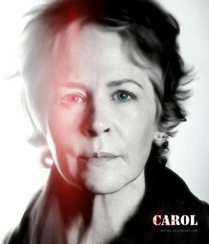 Melissa McBride as Carol Peletier by Kot1ka