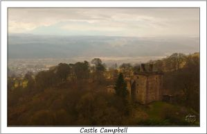 Castle Campbell by SnapperRod