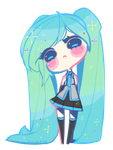 Little Miku. Pagedoll by Jiyuuri