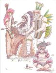 YYH Indian Tribe Colored by Dragoneon