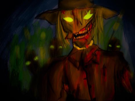 Crows and Scarecrows by XaviorDraws
