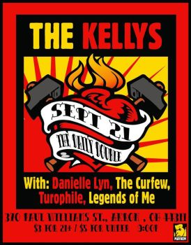 The Kellys Flyer by OiMayhem